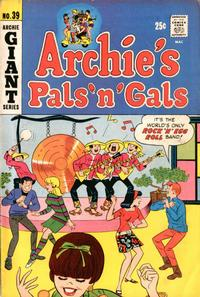 Cover Thumbnail for Archie's Pals 'n' Gals (Archie, 1952 series) #39