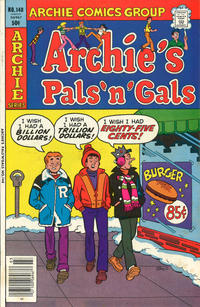 Cover Thumbnail for Archie's Pals 'n' Gals (Archie, 1952 series) #148