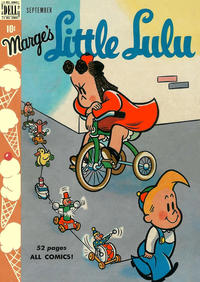 Cover for Marge's Little Lulu (Dell, 1948 series) #15