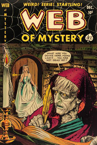 Cover Thumbnail for Web of Mystery (Ace Magazines, 1951 series) #6