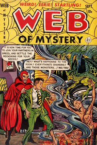 Cover Thumbnail for Web of Mystery (Ace Magazines, 1951 series) #13