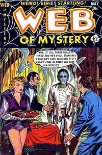 Cover Thumbnail for Web of Mystery (Ace Magazines, 1951 series) #18