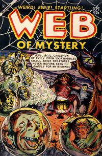 Cover for Web of Mystery (Ace Magazines, 1951 series) #20