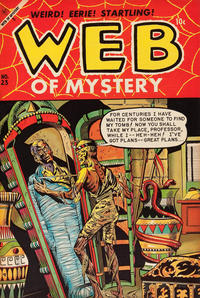 Cover Thumbnail for Web of Mystery (Ace Magazines, 1951 series) #23
