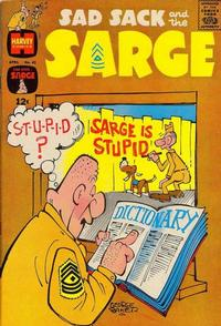 Cover Thumbnail for Sad Sack and the Sarge (Harvey, 1957 series) #42