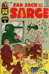 Cover Thumbnail for Sad Sack and the Sarge (Harvey, 1957 series) #67