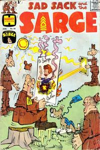 Cover Thumbnail for Sad Sack and the Sarge (Harvey, 1957 series) #83