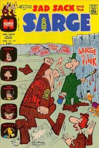 Cover Thumbnail for Sad Sack and the Sarge (Harvey, 1957 series) #101