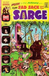 Cover Thumbnail for Sad Sack and the Sarge (Harvey, 1957 series) #113
