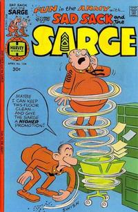 Cover Thumbnail for Sad Sack and the Sarge (Harvey, 1957 series) #124