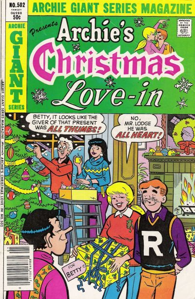 Cover for Archie Giant Series Magazine (Archie, 1954 series) #502
