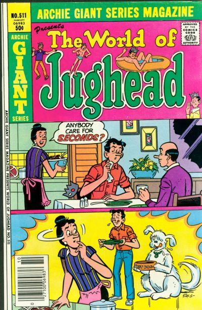 Cover for Archie Giant Series Magazine (Archie, 1954 series) #511