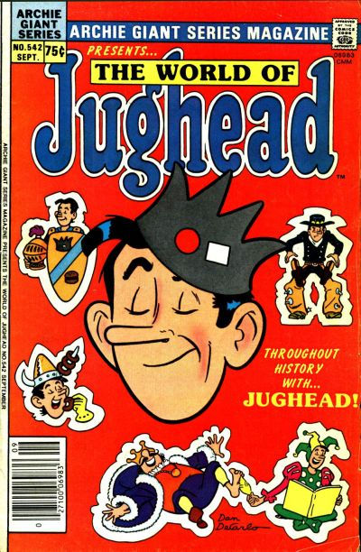 Cover for Archie Giant Series Magazine (Archie, 1954 series) #542