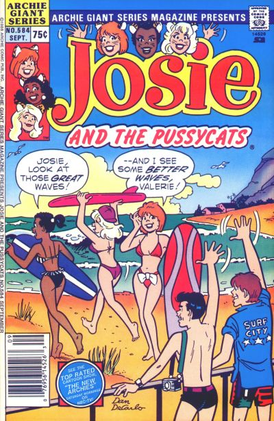 Cover for Archie Giant Series Magazine (Archie, 1954 series) #584
