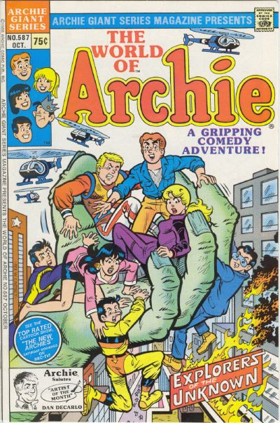 Cover for Archie Giant Series Magazine (Archie, 1954 series) #587