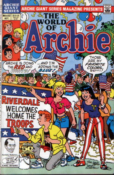 Cover for Archie Giant Series Magazine (Archie, 1954 series) #622