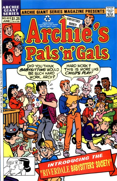 Cover for Archie Giant Series Magazine (Archie, 1954 series) #631