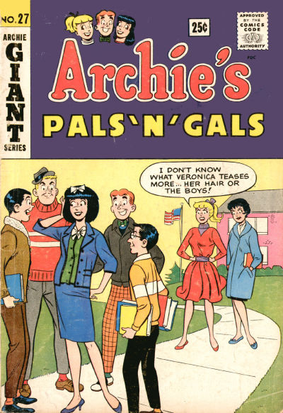 Cover for Archie's Pals 'n' Gals (Archie, 1952 series) #27