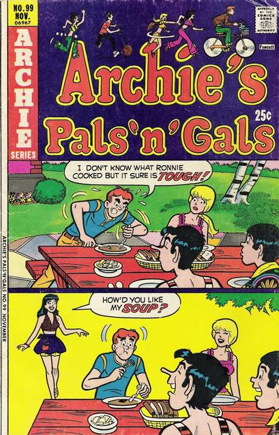 Cover for Archie's Pals 'n' Gals (Archie, 1952 series) #99