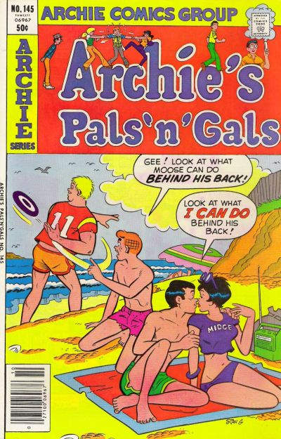 Cover for Archie's Pals 'n' Gals (1952 series) #145