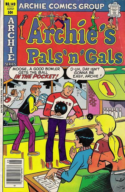 Cover for Archie's Pals 'n' Gals (Archie, 1952 series) #149