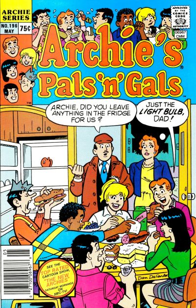 Cover for Archie's Pals 'n' Gals (1952 series) #196
