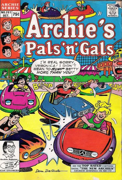 Cover for Archie's Pals 'n' Gals (Archie, 1952 series) #201