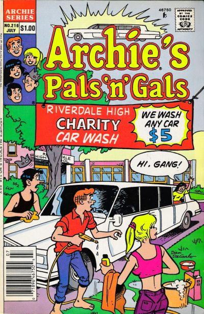 Cover for Archie&#39;s Pals &#39;n&#39; Gals (1952 series) #216