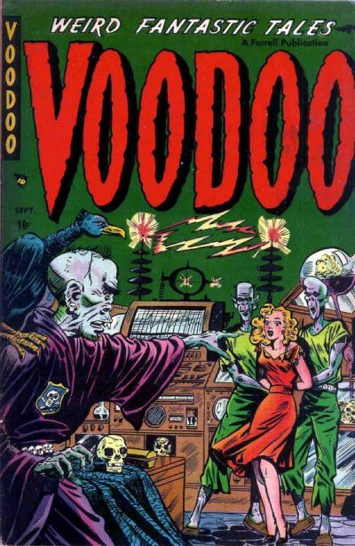 Cover for Voodoo (Farrell, 1952 series) #3