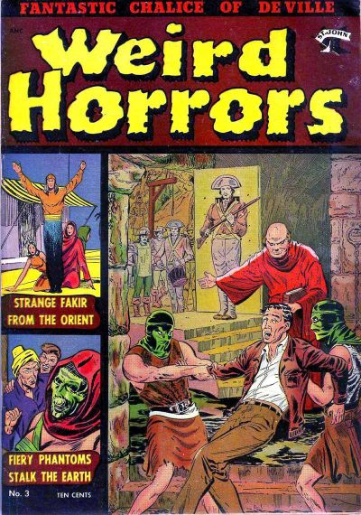 Cover for Weird Horrors (St. John, 1952 series) #3