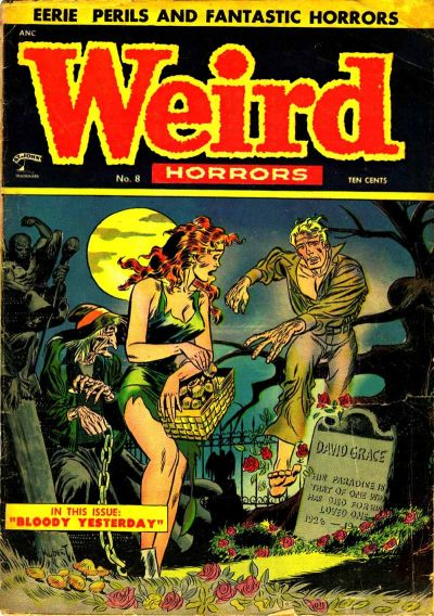 Cover for Weird Horrors (1952 series) #8
