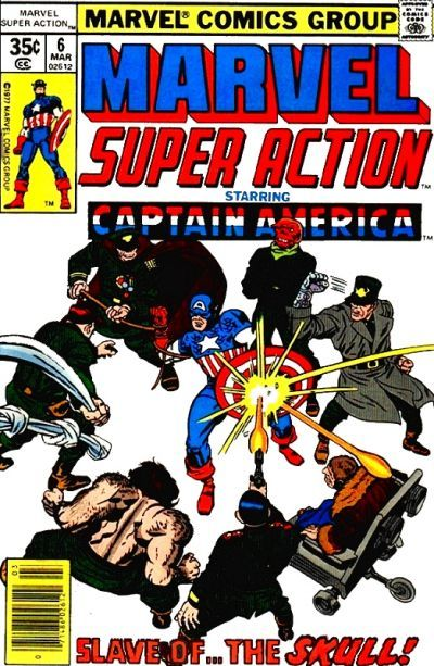 Cover for Marvel Super Action (Marvel, 1977 series) #6