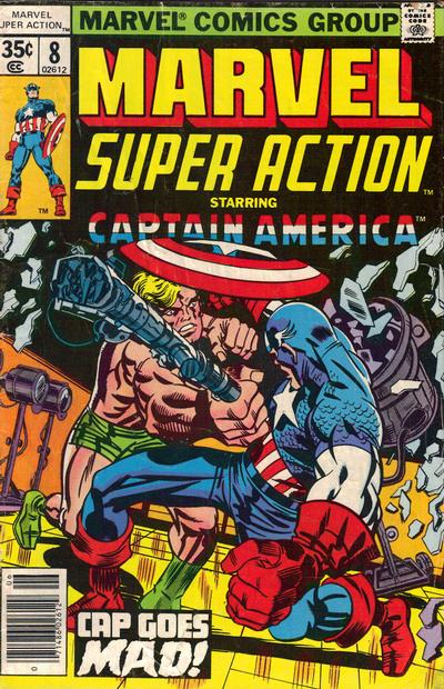 Cover for Marvel Super Action (Marvel, 1977 series) #8