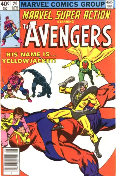Cover for Marvel Super Action (1977 series) #20 [direct edition]