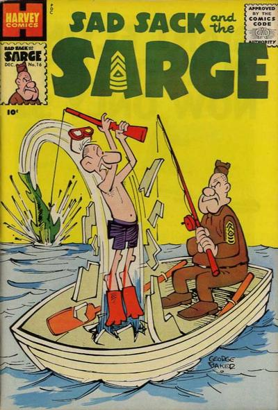 Cover for Sad Sack and the Sarge (1957 series) #16