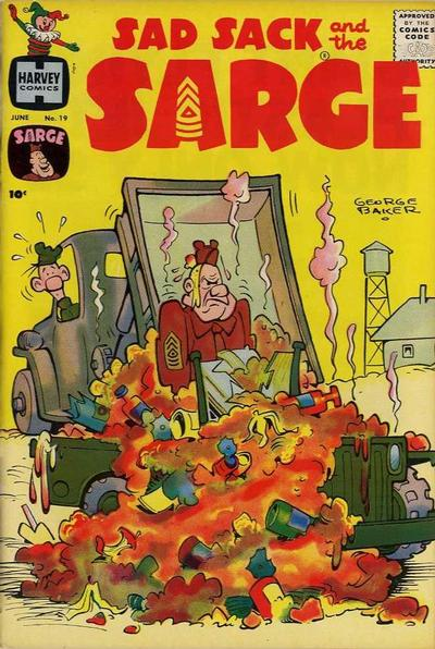 Cover for Sad Sack and the Sarge (Harvey, 1957 series) #19