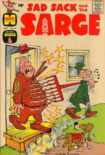 Cover for Sad Sack and the Sarge (Harvey, 1957 series) #25