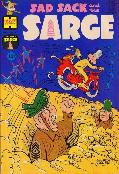 Cover for Sad Sack and the Sarge (Harvey, 1957 series) #30