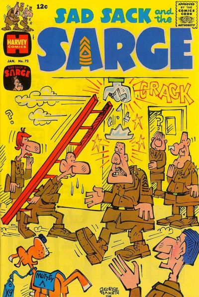 Cover for Sad Sack and the Sarge (1957 series) #72