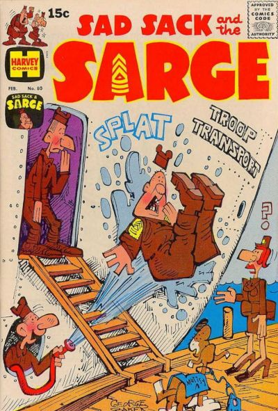 Cover for Sad Sack and the Sarge (Harvey, 1957 series) #80