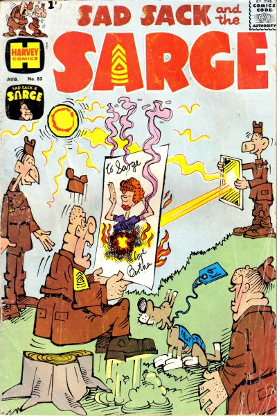 Cover for Sad Sack and the Sarge (Harvey, 1957 series) #83