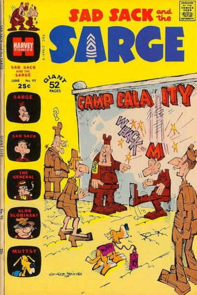 Cover for Sad Sack and the Sarge (Harvey, 1957 series) #95