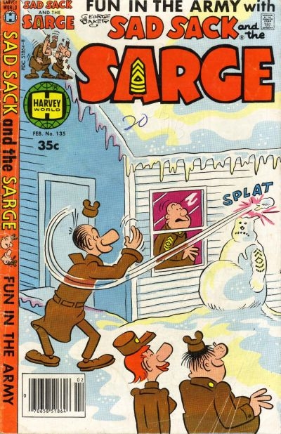 Cover for Sad Sack and the Sarge (Harvey, 1957 series) #135