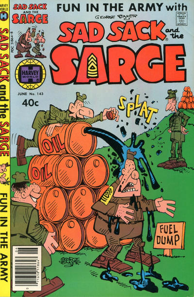 Cover for Sad Sack and the Sarge (Harvey, 1957 series) #143