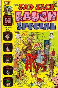 Cover for Sad Sack Laugh Special (Harvey, 1958 series) #72