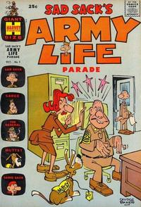 Cover Thumbnail for Sad Sack's Army Life Parade (Harvey, 1963 series) #1