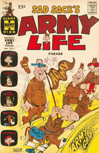 Cover Thumbnail for Sad Sack's Army Life Parade (Harvey, 1963 series) #4