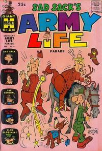 Cover Thumbnail for Sad Sack's Army Life Parade (Harvey, 1963 series) #6