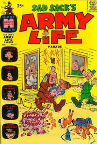 Cover Thumbnail for Sad Sack's Army Life Parade (Harvey, 1963 series) #17