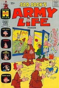 Cover Thumbnail for Sad Sack's Army Life Parade (Harvey, 1963 series) #22